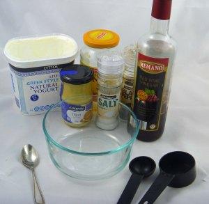 Dressing ingredients