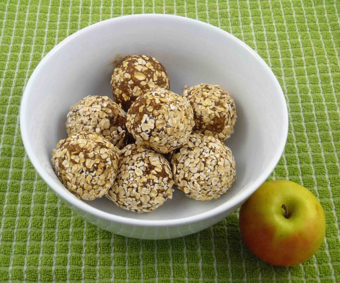 Peanut butter and apple Energy balls