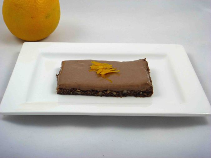 Chocolate orange cheesecake 3