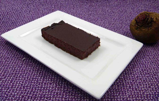 Chocolate beetroot cheescake 1