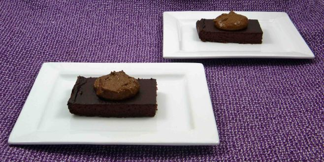 Chocolate beetroot cheescake 2