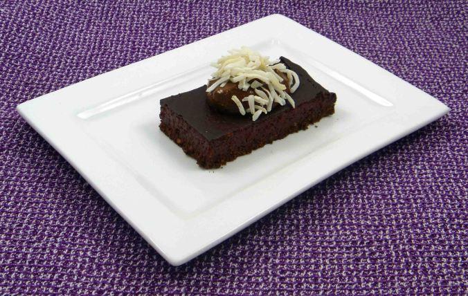 Chocolate beetroot cheesecake
