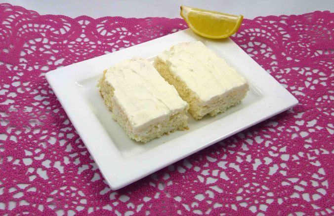 Coconut lemon slice 1