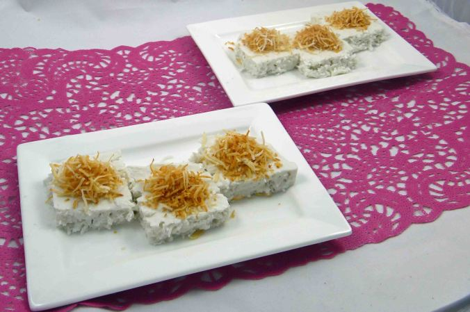 Easy coconut jelly