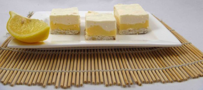 Lemon cheesecake slice 2