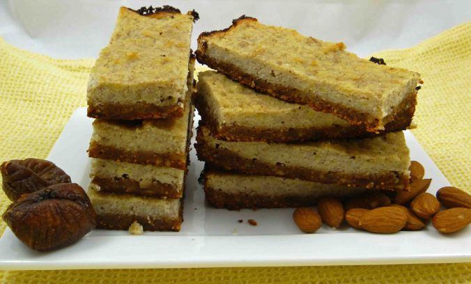 Banana fig almond slice 2
