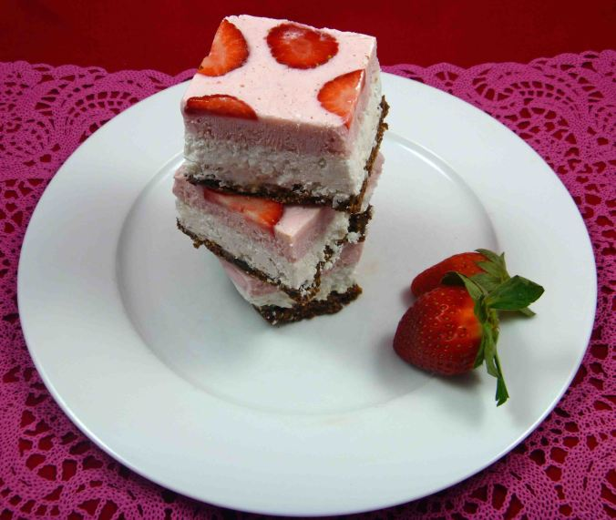 Frozen neapolitan slice
