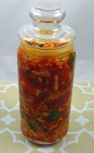 Kimchi day 0