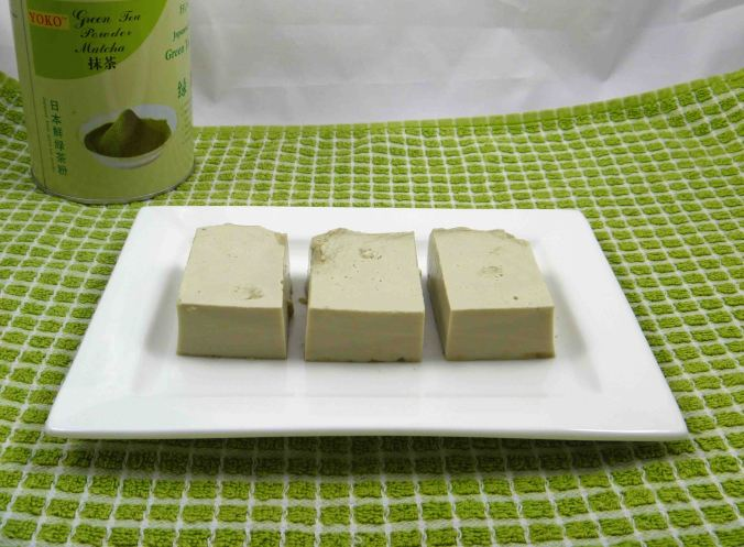 Matcha green tea jelly 2