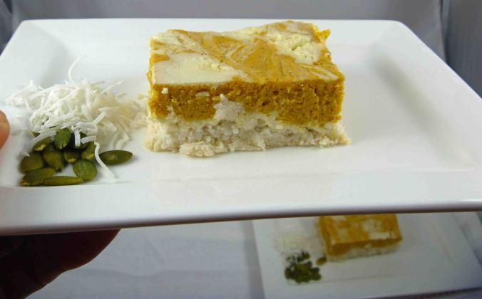 Pumpkin ricotta cheesecake 1