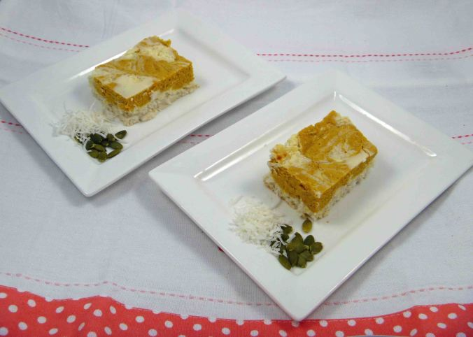 Pumpkin ricotta cheesecake 3