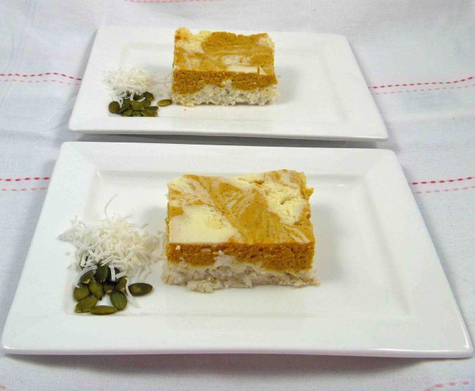 Pumpkin ricotta cheesecake 4