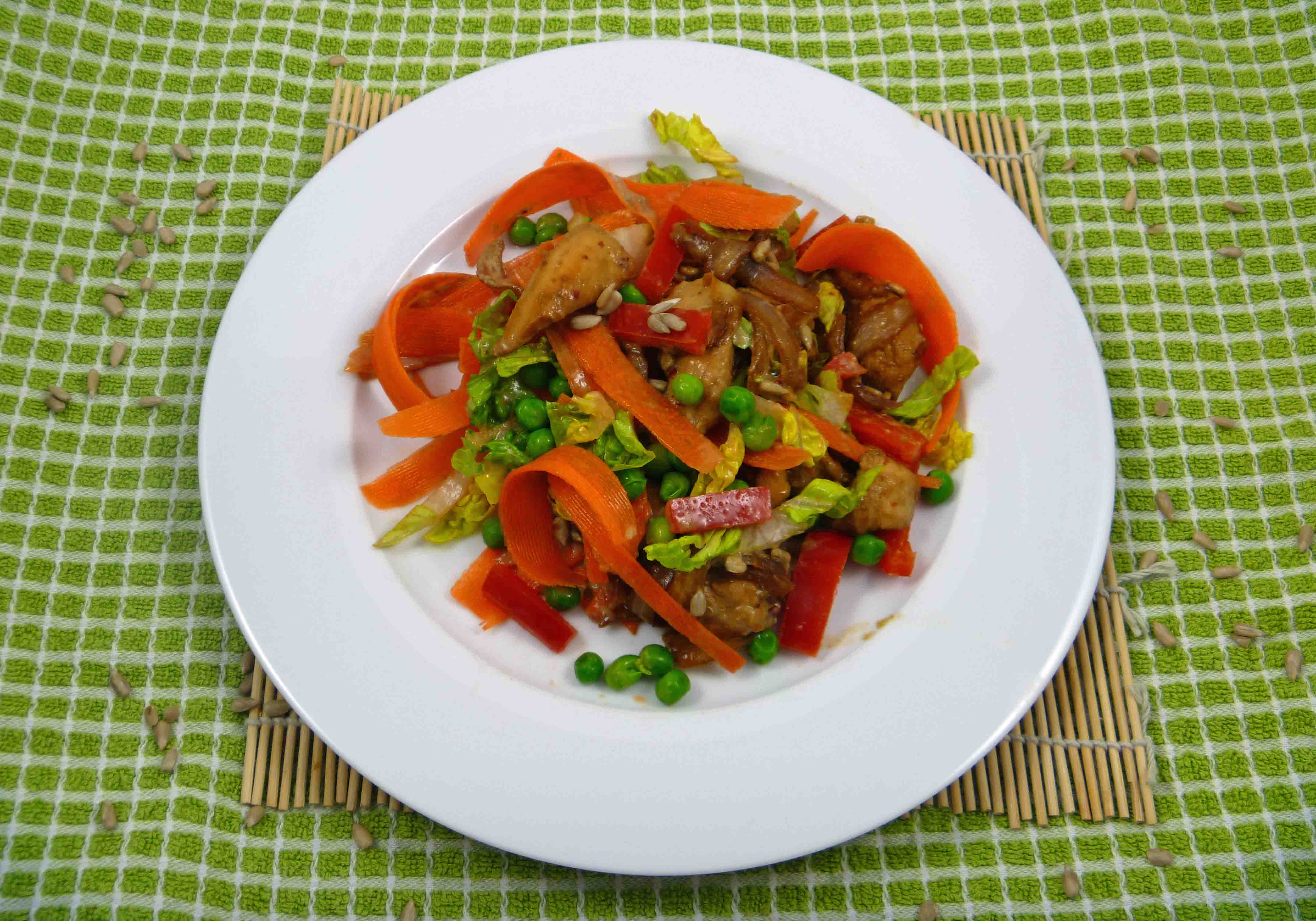 Sesame Chicken Salad Dressing Sesame Chicken Salad With