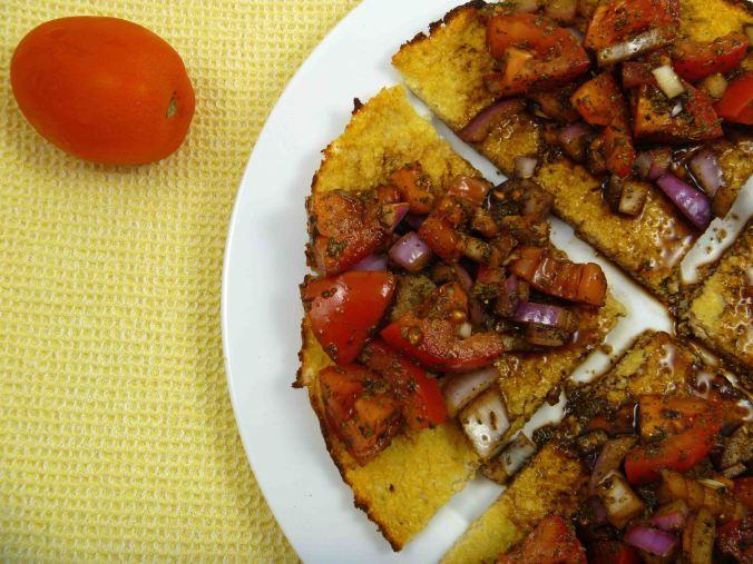 Cauliflower bruschetta 1