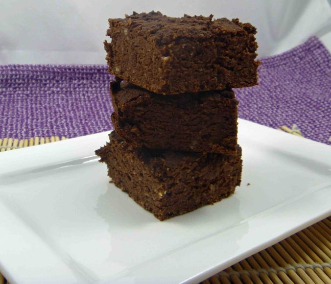 Low carb Chocolate peanut butter brownie 2
