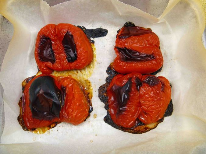 Roasted capsicum