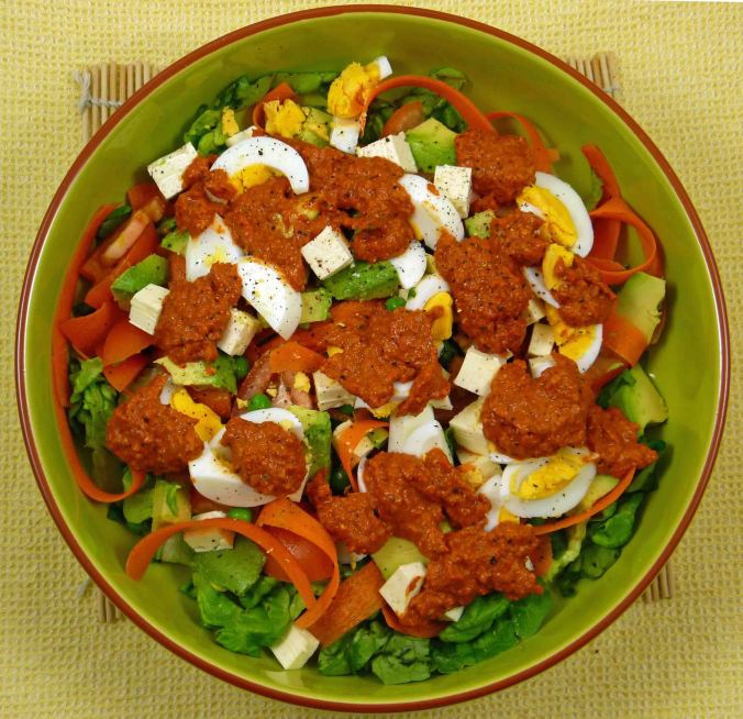 Romesco salad