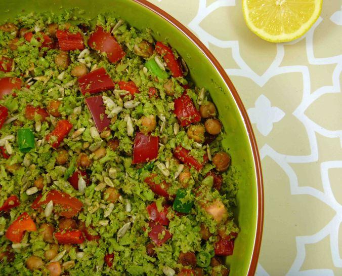 Broccoli rice salad 2