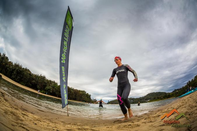 GC adventure race swim