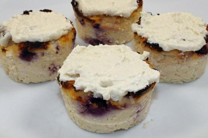 Blueberry lemon coconut cupcakes 2