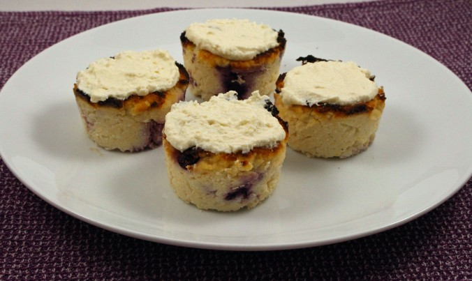 Blueberry lemon coconut cupcakes