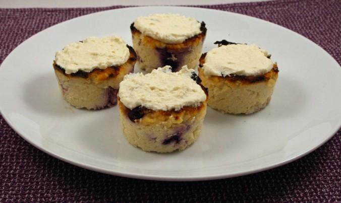 Blueberry lemon coconut cupcakes