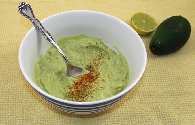 Smoky avocado dip
